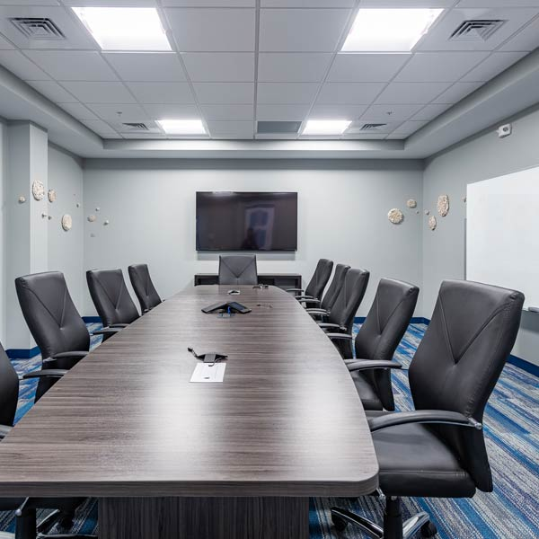Conference room at ABI-LAB in Natick